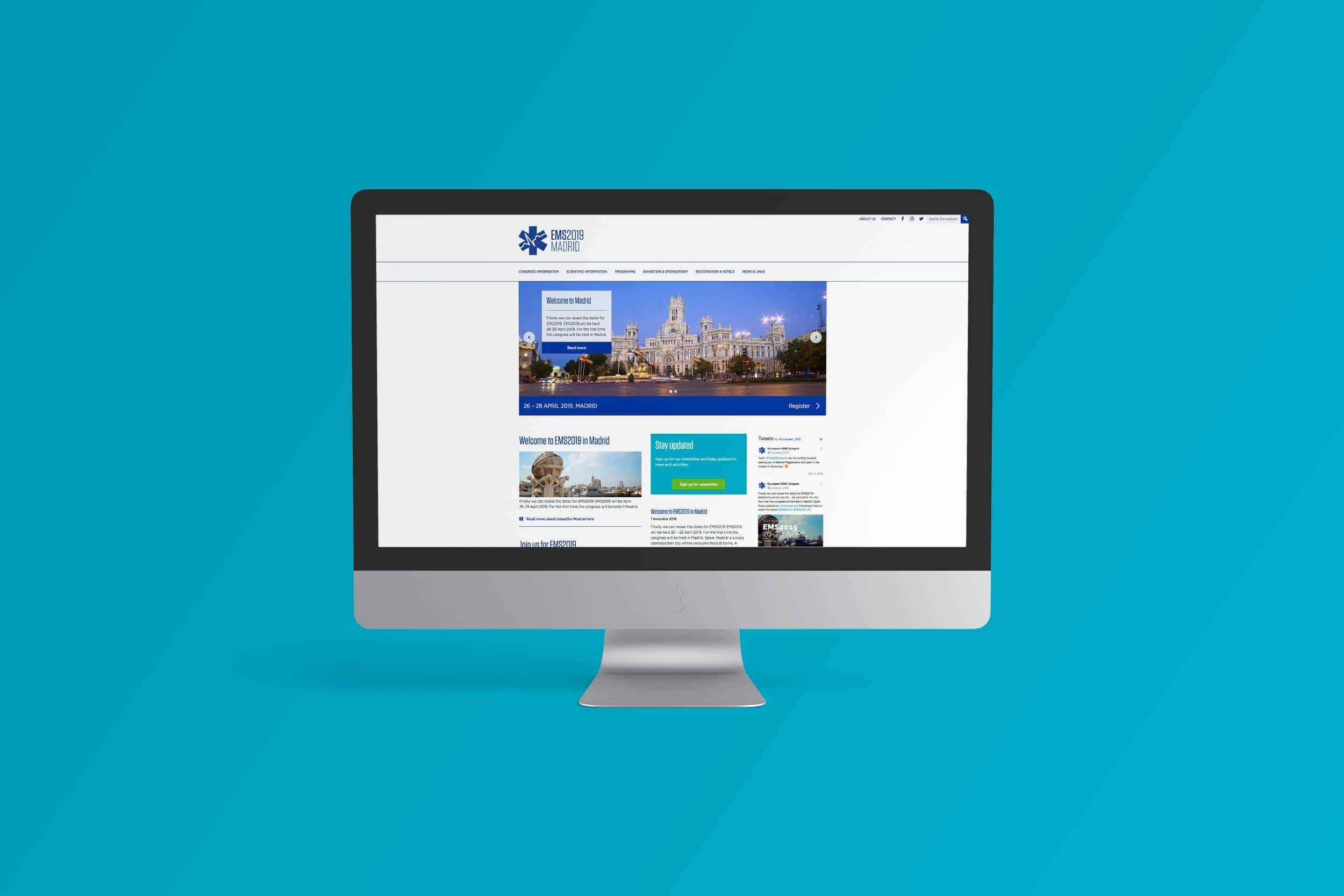 EMS Europe website