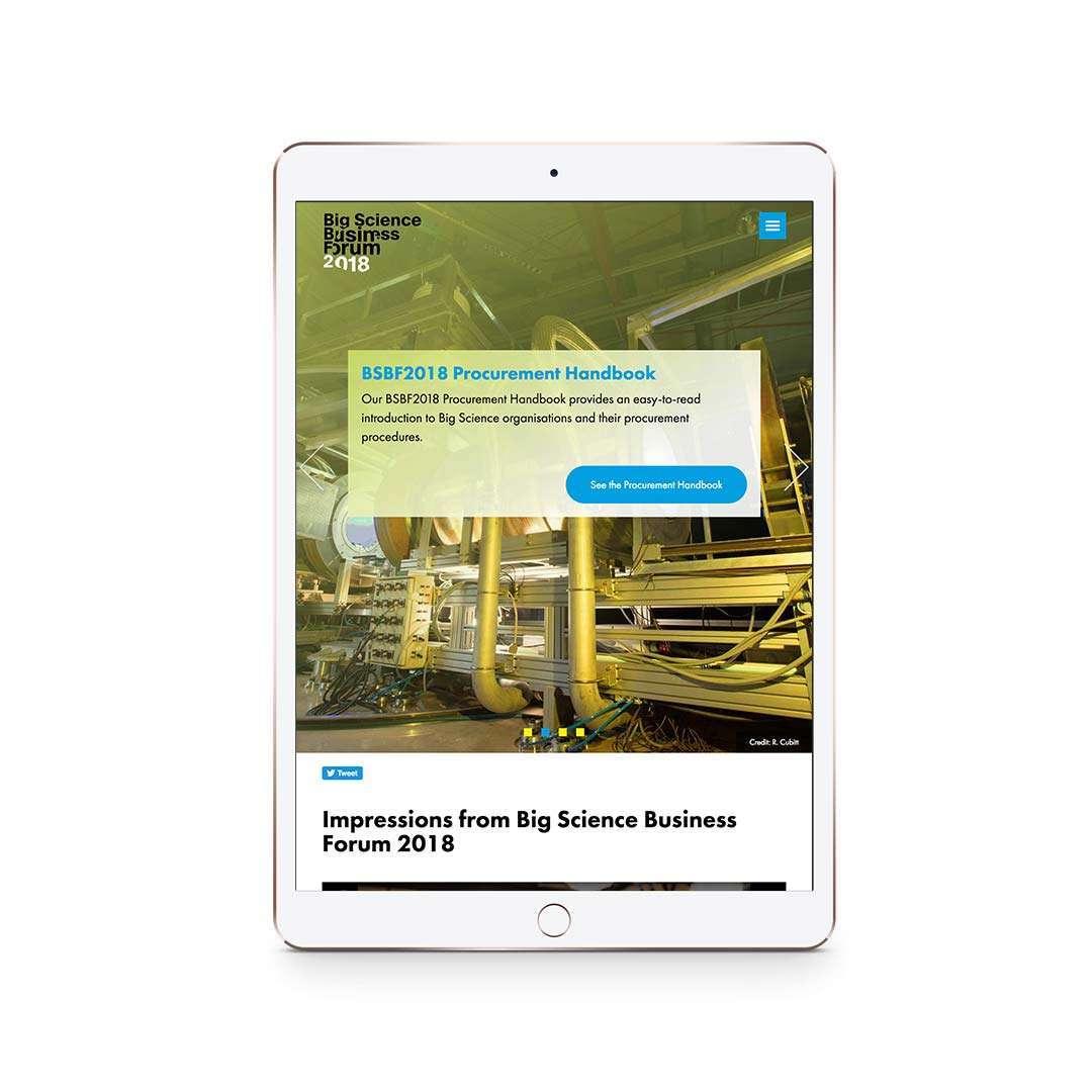 BSBF 2018 iPad